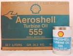AeroShell Turbine Oil 555 Synthetic Turbine Engine Oil
