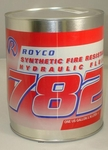 ROYCO® 782 Synthetic Fire Resistant Hydraulic Fluid