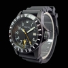 Trintec ZULU-01 GMT Aviation Watch - Black PVD Case