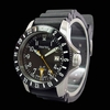 Trintec ZULU-01 GMT Aviation Watch - Stainless Steel Case