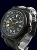 Trintec ZULU-05 GMT Aviation Watch - Black PVD Case