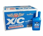Phillips 66 X/C 20W-50 Multiviscosity Aircraft Engine Oil - 12 Quart/Case