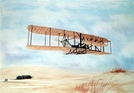 """Gift of Wings 201 Aviation Greeting Cards """"Wright Flyer Christmas Cards"""" (10 Pack)"""