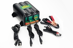 Deltran 022-0165-DL-WH Battery Tender 2-Bank 12-Volt Lead Acid Battery Charger