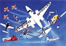 "Gift of Wings 205 Aviation Greeting Cards ""Airshow Performers Cards"" - 10 Pack"