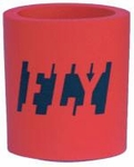 """FLY"" Red Beer/Soda Can Koozie"