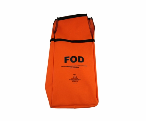 Seitz FOD-1A Orange (FOD) Foreign Object Debris Bag with Belt Loops