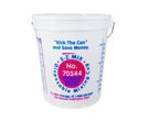 E-Z Mix 70544 4.25 Gallon Plastic Mixing Cups - 6/Box - 544 oz