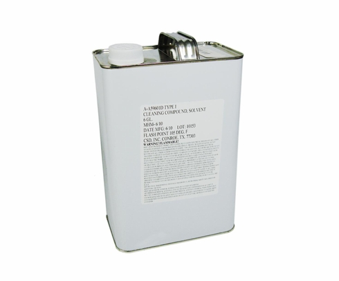 Military Specification P-D-680 Type I Mineral Spirits Solvent - Gallon Can