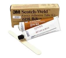3M 021200-20351 Gray Scotch-Weld 2216 B/A Epoxy Adhesive - 2 oz A+B Tube Kit