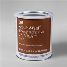 3M 021200-20358 Gray Scotch-Weld 2216 B/A Epoxy Adhesive - Gallon