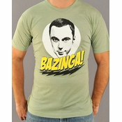 Big Bang Theory Bazinga T Shirt Sheer