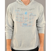Big Bang Theory Friendship Algorithm Hoodie