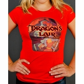 Dragons Lair Screen Baby Tee