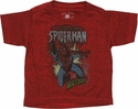 Spiderman Swing Whoosh Infant T Shirt