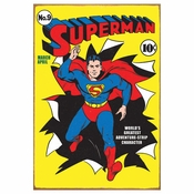 Superman Comic Tin Sign