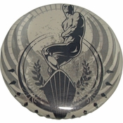 Silver Surfer Fancy Button