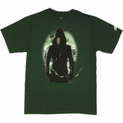 Green Arrow TV Portrait T Shirt