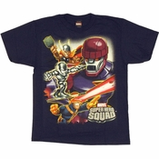 Marvel Hero Squad Sentinel Youth T Shirt