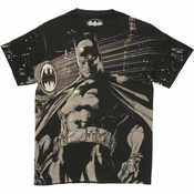 Batman Signal Grayscale T Shirt