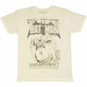 Batman Psychic Siren T Shirt Sheer