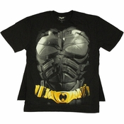 Batman Body Armor Cape T Shirt