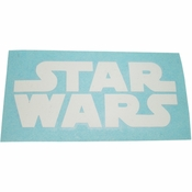Star Wars Logo White Decal