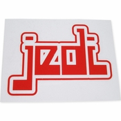 Star Wars Jedi Name Red Decal