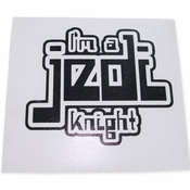 Star Wars Jedi Knight Black Decal