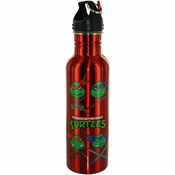 Ninja Turtles Team Metal Water Bottle