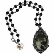 Bride of Frankenstein Duo Rosary Necklace
