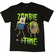 Adventure Time Zombie Time T Shirt