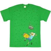 Adventure Time Grass T Shirt