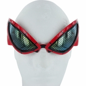 Amazing Spiderman Costume Glasses