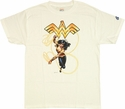 Wonder Woman Under Logo T Shirt