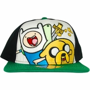 Adventure Time Duo Tricolor Hat