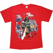 Star Wars Vader Power Empire T Shirt
