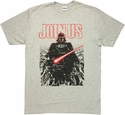 Star Wars Join Us T Shirt Sheer