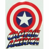 Captain America Car Decal