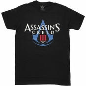 Assassins Creed 3 Logo T Shirt Sheer
