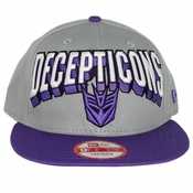 Transformers Decepticon Block Name Hat