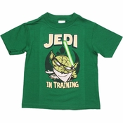 Star Wars Yoda Training Toon Toddler T Shirt