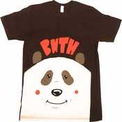 Bring Me the Horizon Panda T Shirt Sheer