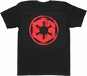 Star Wars Vintage Empire Logo T Shirt Sheer