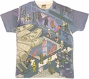 Star Wars Hangar Sublimated T Shirt Sheer