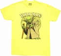 Star Wars Yoda Man T Shirt Sheer