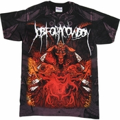 Job for a Cowboy Demon T Shirt