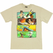 Naruto Battle T Shirt