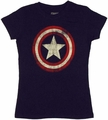 Captain America Shield Baby Tee