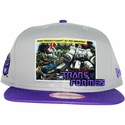 Transformers Decepticon Intro Panel Hat